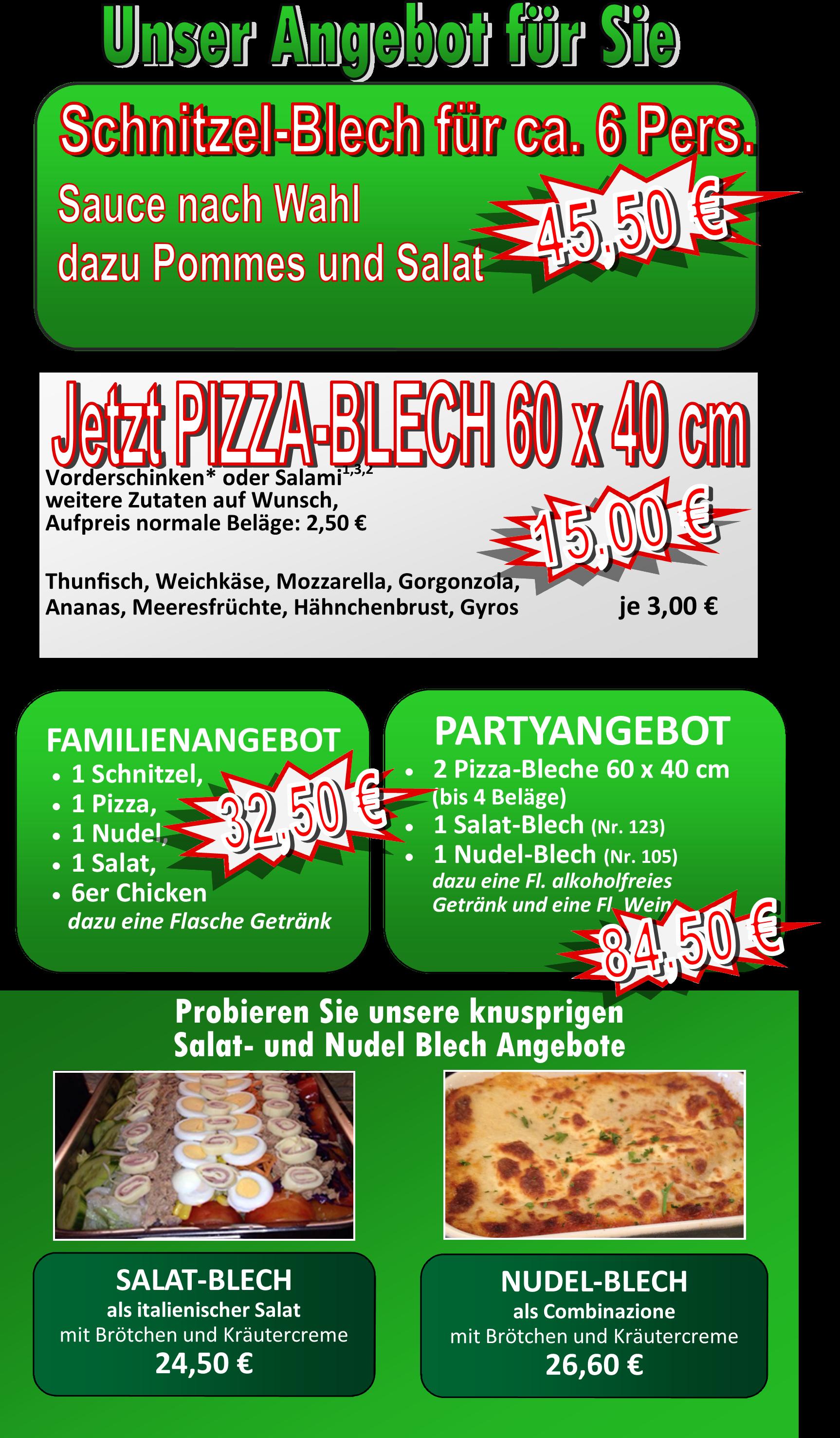 Startseite | Pizzeria Presto in Ehringshausen